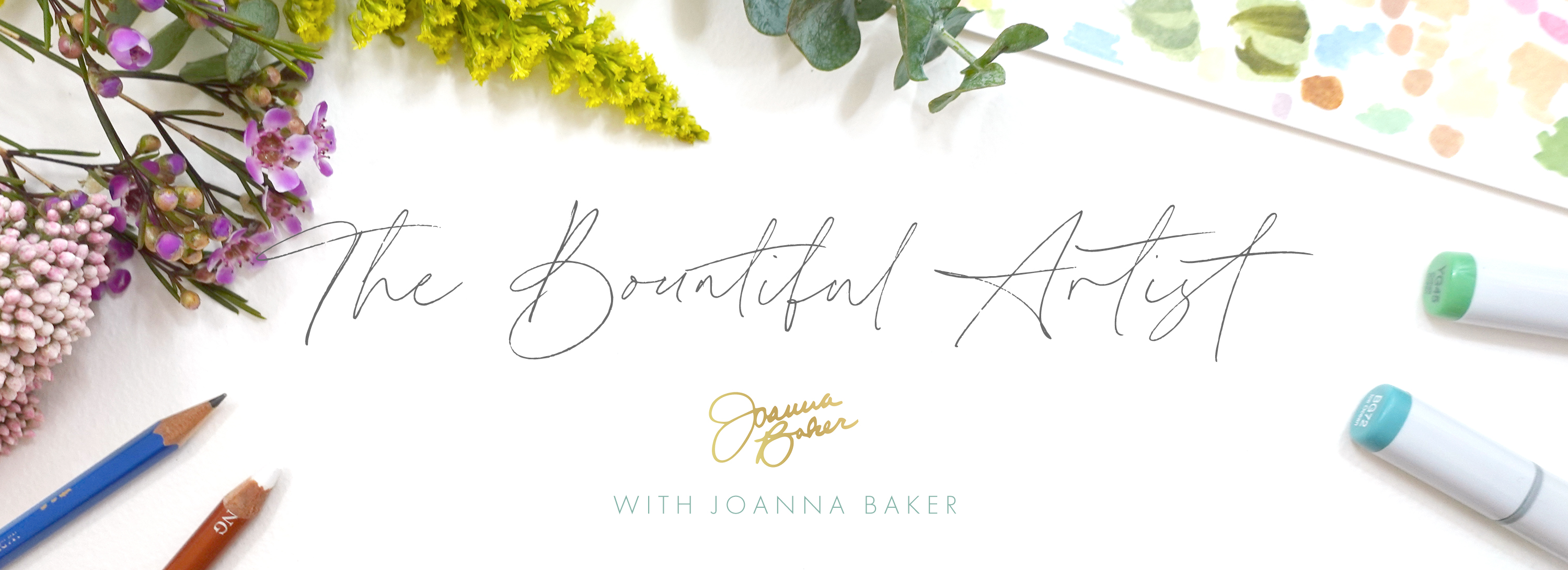 The Bountiful Artist Monthly Membership by Joanna Baker