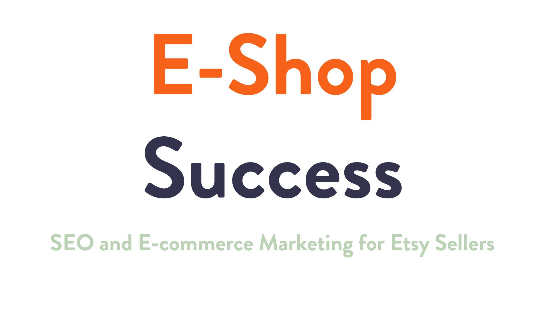 E-Shop Success Marketing course logo