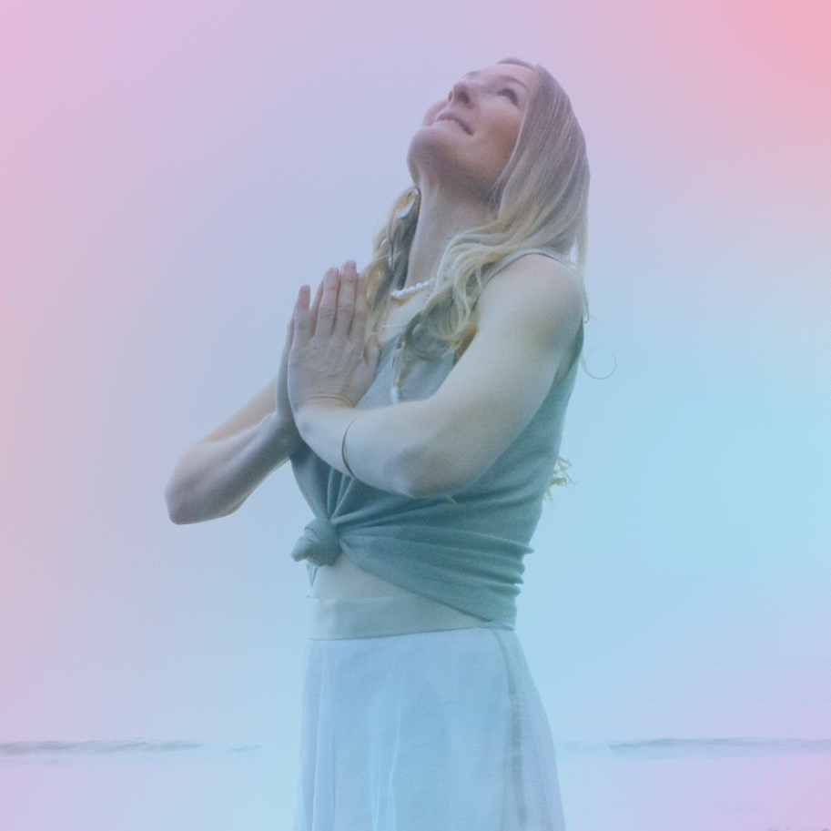 Susan in prayer