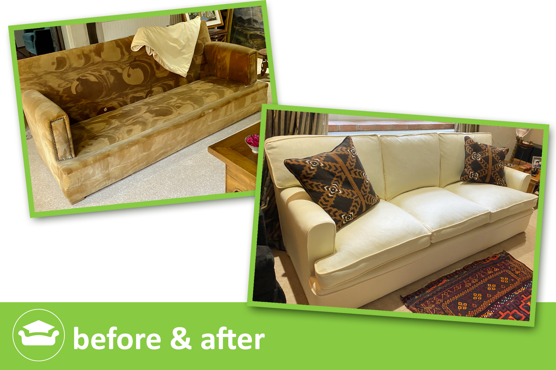 learn loose covers online for a t front sofa