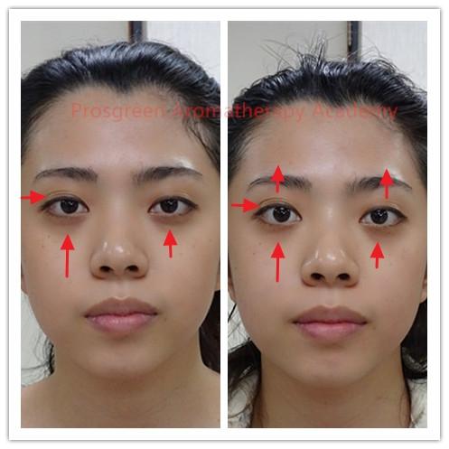 Facial Meridian Massage