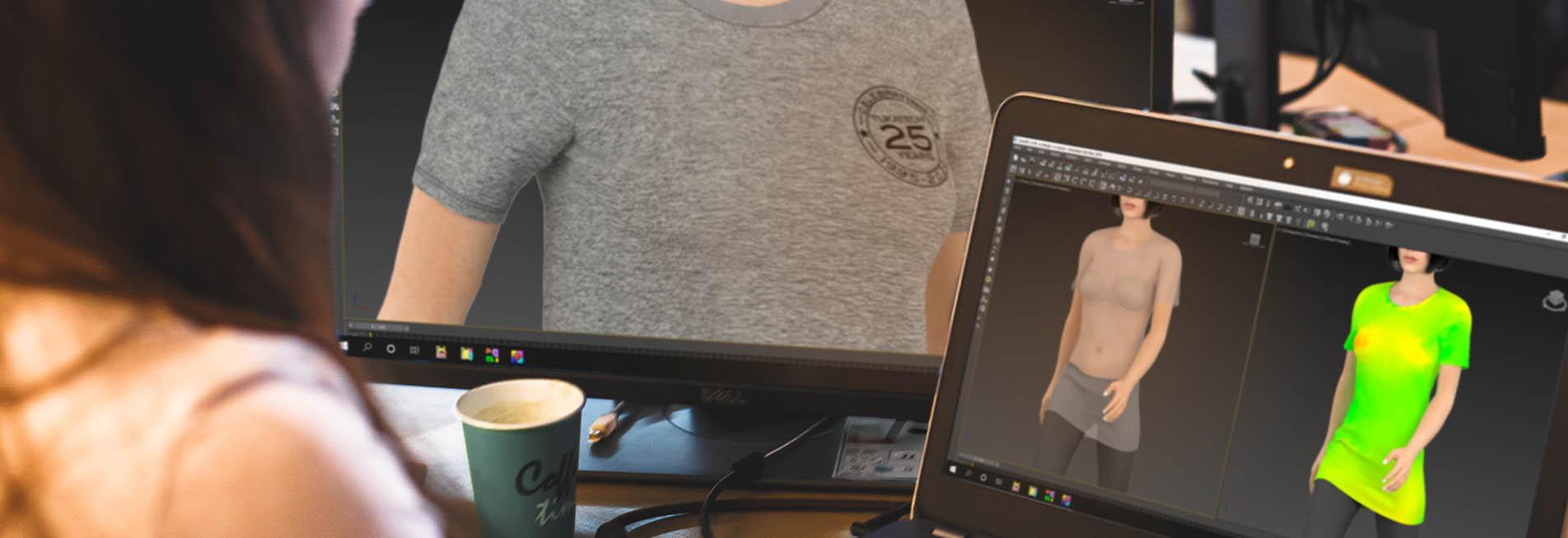 TUKA3D T shirt 3D sample making course