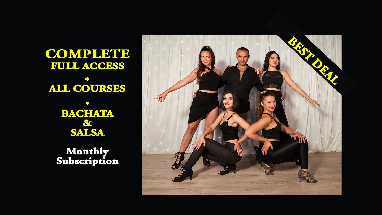 Salsa Bachata Classes Online
