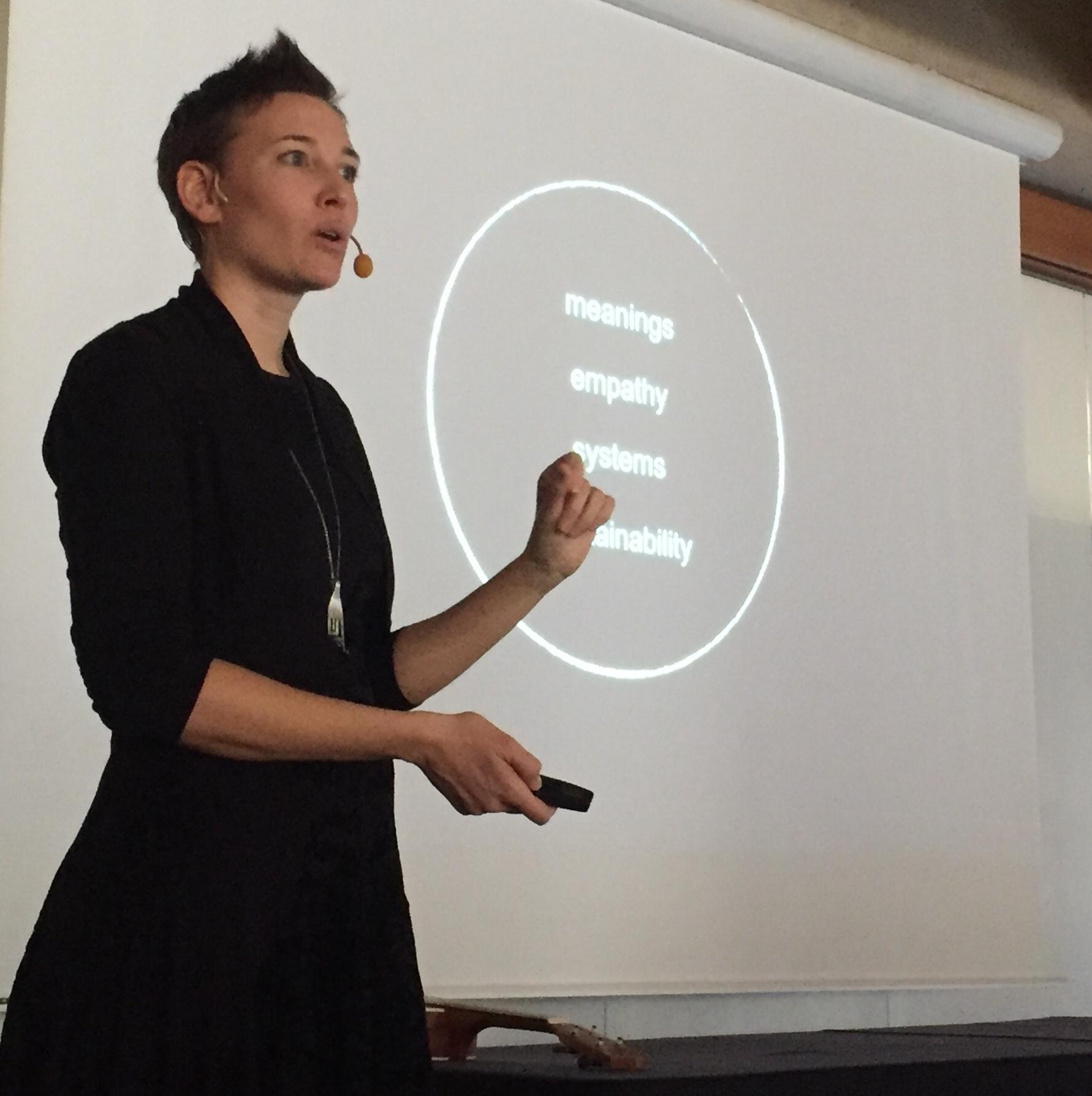 Francesca Zampollo food design talk