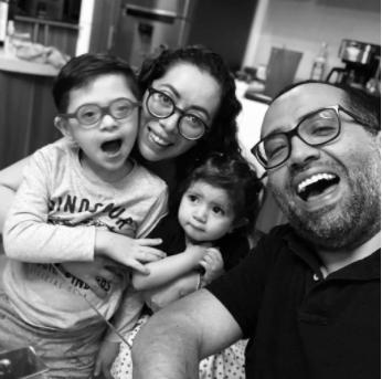Capacitación a familias en  síndrome de Down