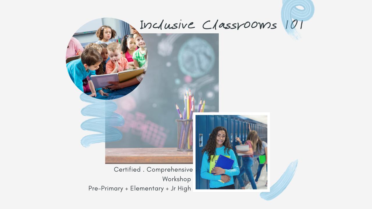 Inclusive Classes 101