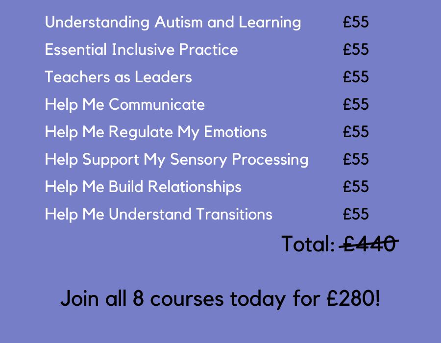 autism training online courses