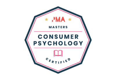 Consumer Psychology Certified badge