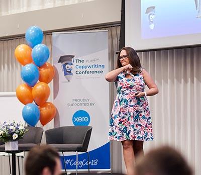 Jane Tweedy presenting for FAQ Business Training