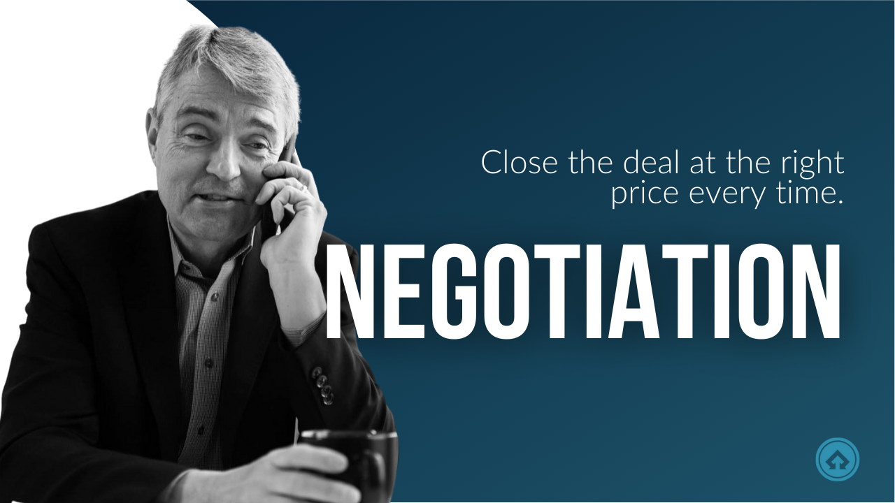 Level 3 members can be confident that they're closing the deal at the right price every time with Mark Hunter's best-selling negotiation video library.