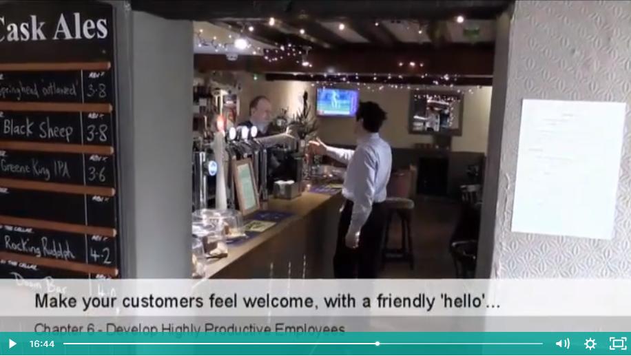 Building repeat customer visits