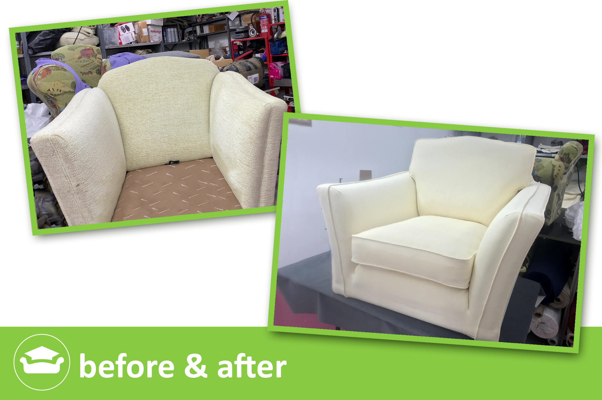 learn loose covers online for a marks&spencer chair