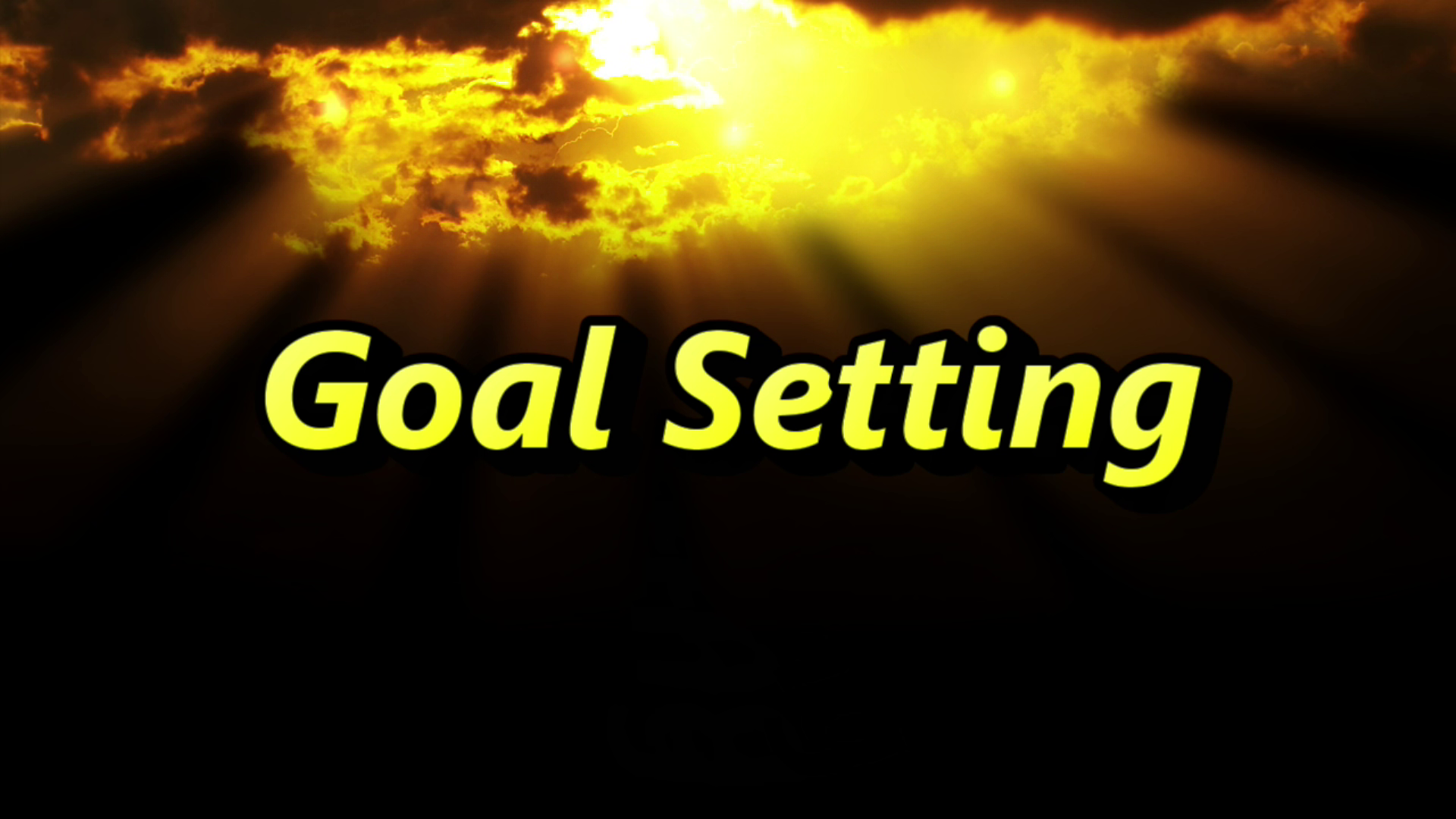 Online Goal Setting Course