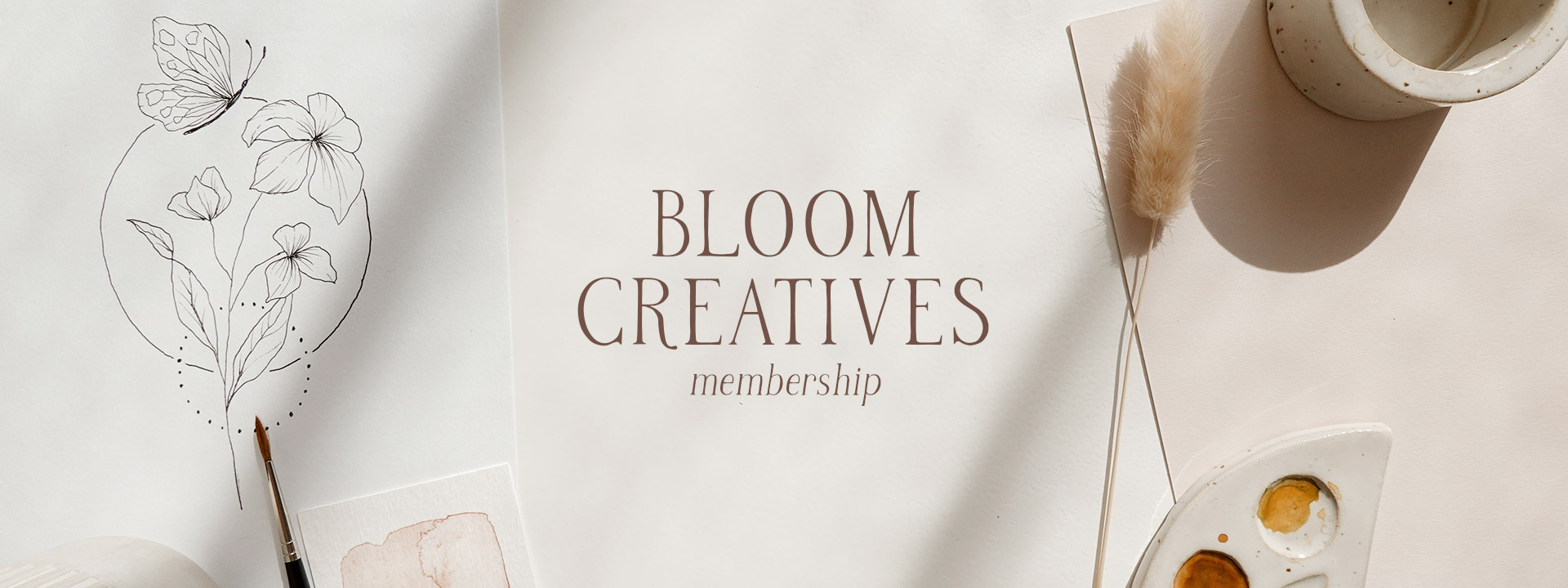 Bloom Creatives Membership - Art classes for all Creatives