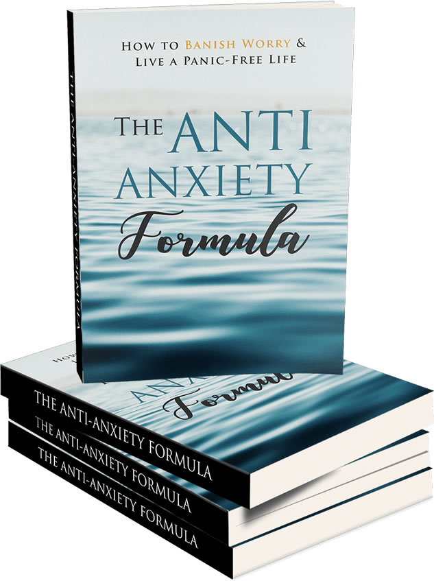 The Anti-Anxiety Formula Book Cover