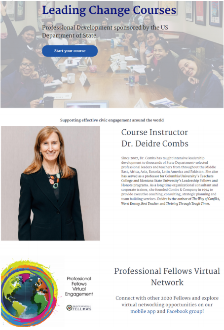 Leading Change Course