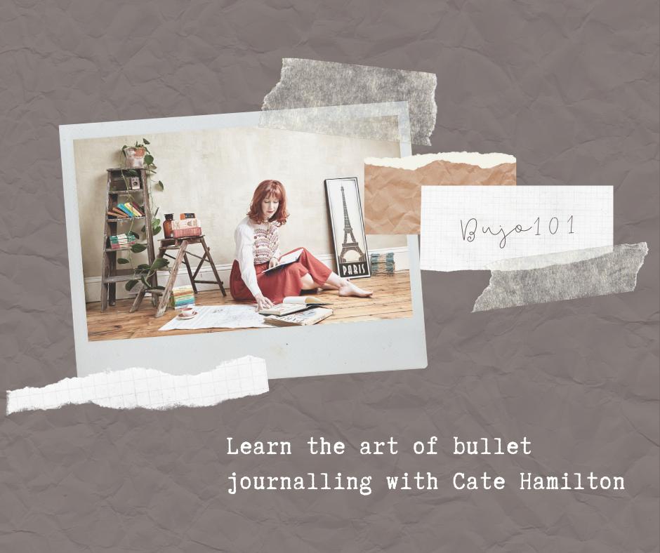 Cate Hamilton Bullet journal online