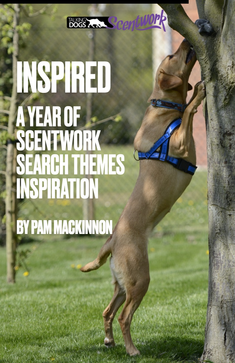 book cover of labrador stretching up to retrieve a scented toy from a tree branch