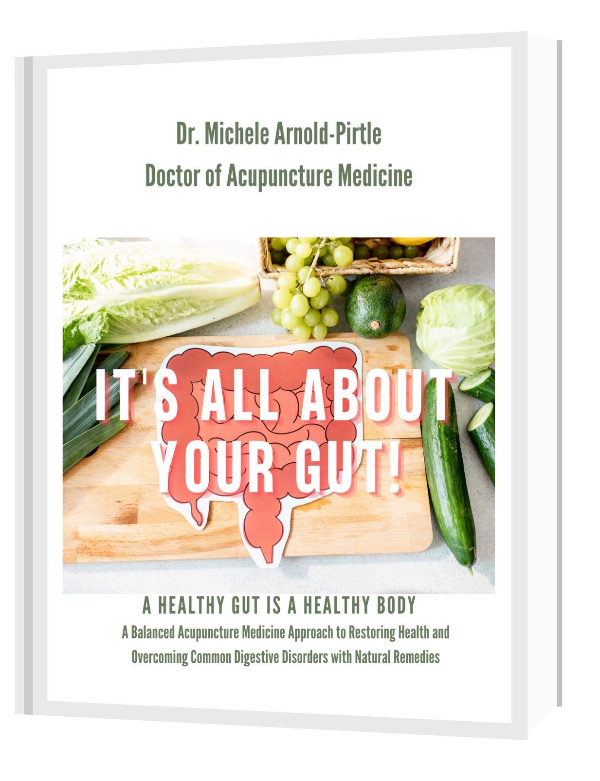 It's All About Your Gut eBook Cover