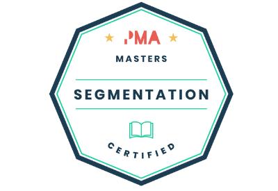 Segmentation certified badge
