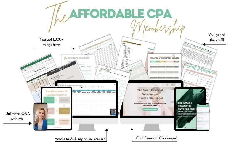 Affordable CPA Solution Membership