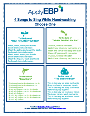4 Songs for Handwashing