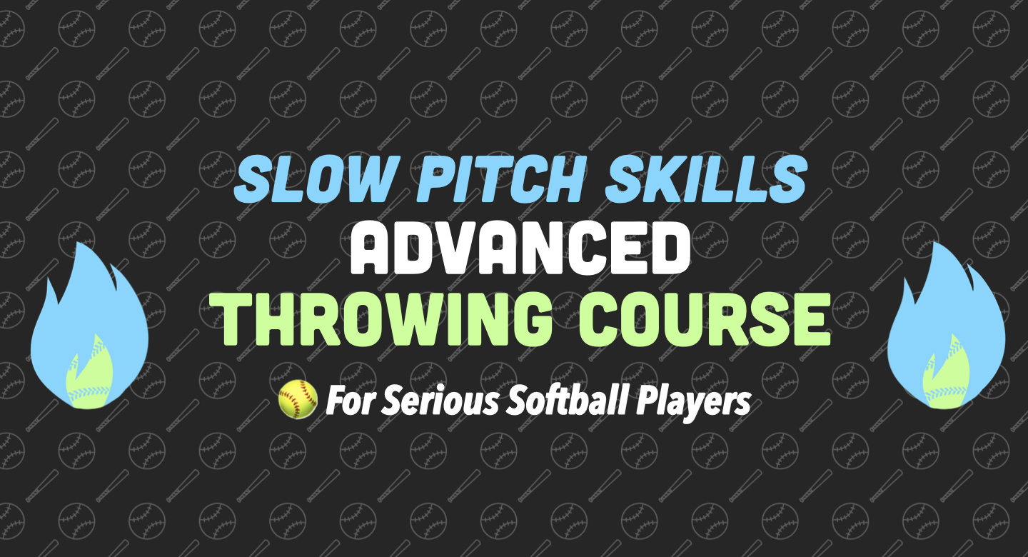 improve throwing slow pitch softball