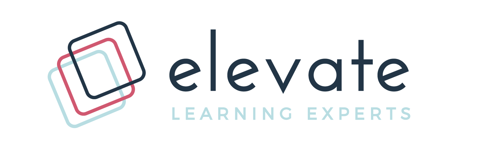 Elevate learning experts- full service learning experience design consultancy- logo image