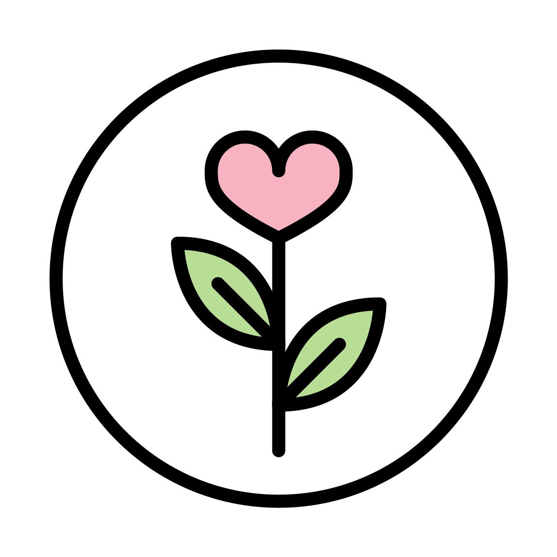 NFTH Heart Flower