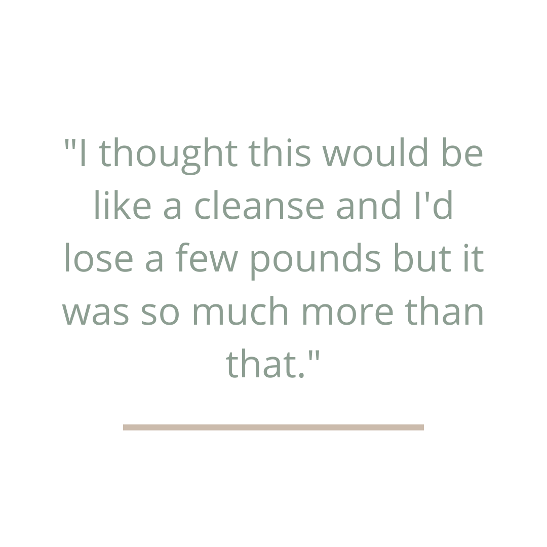 testimonial about gut health reset