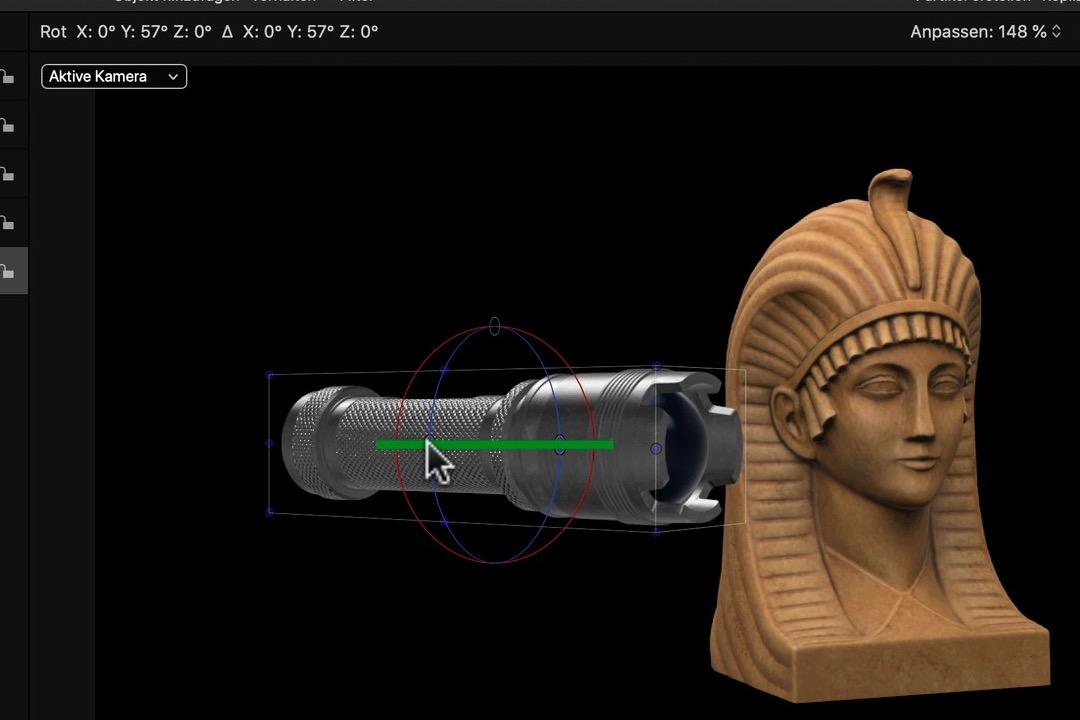 3D Modell Import