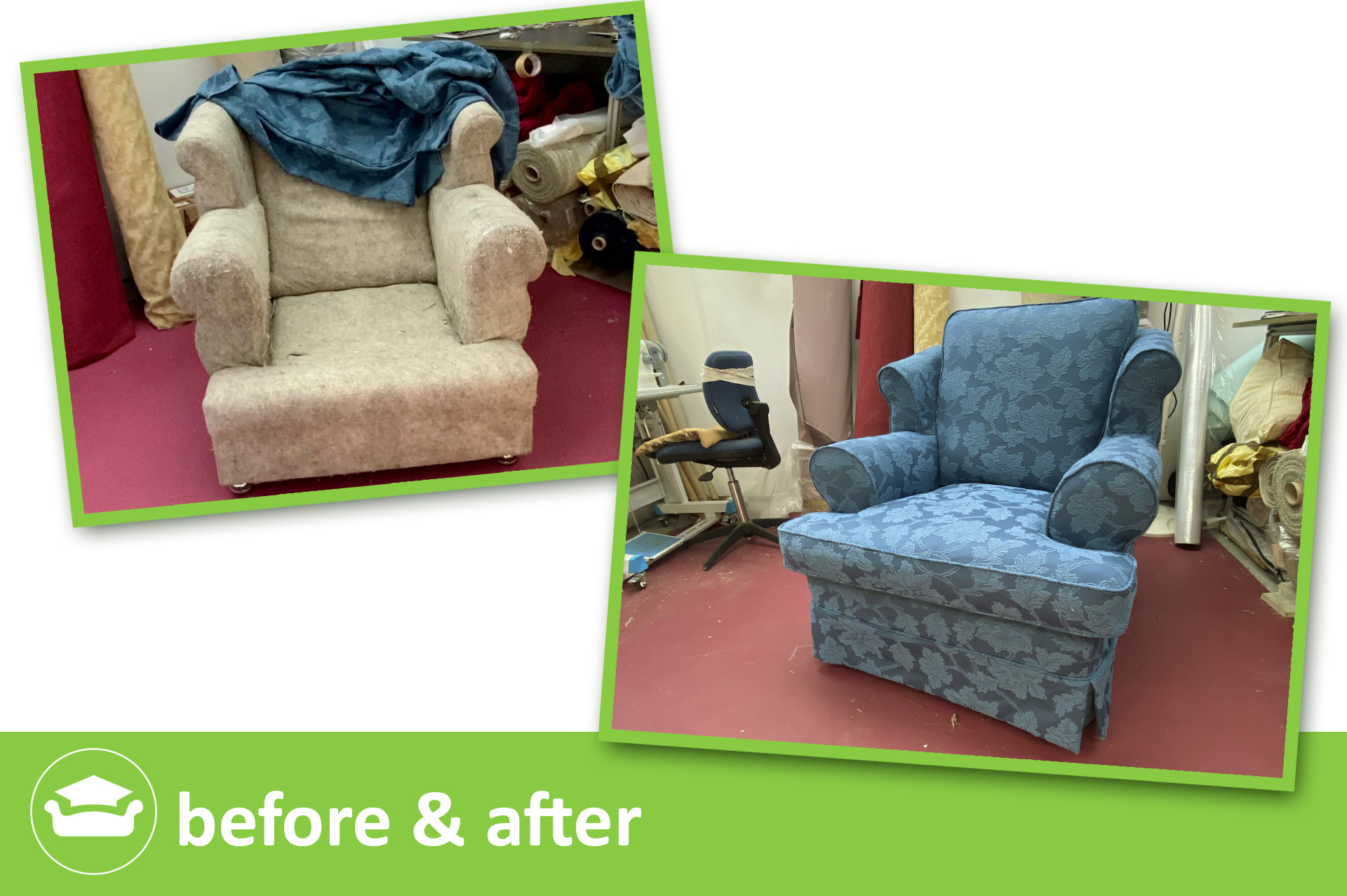 learn to slipcovers for wing chair