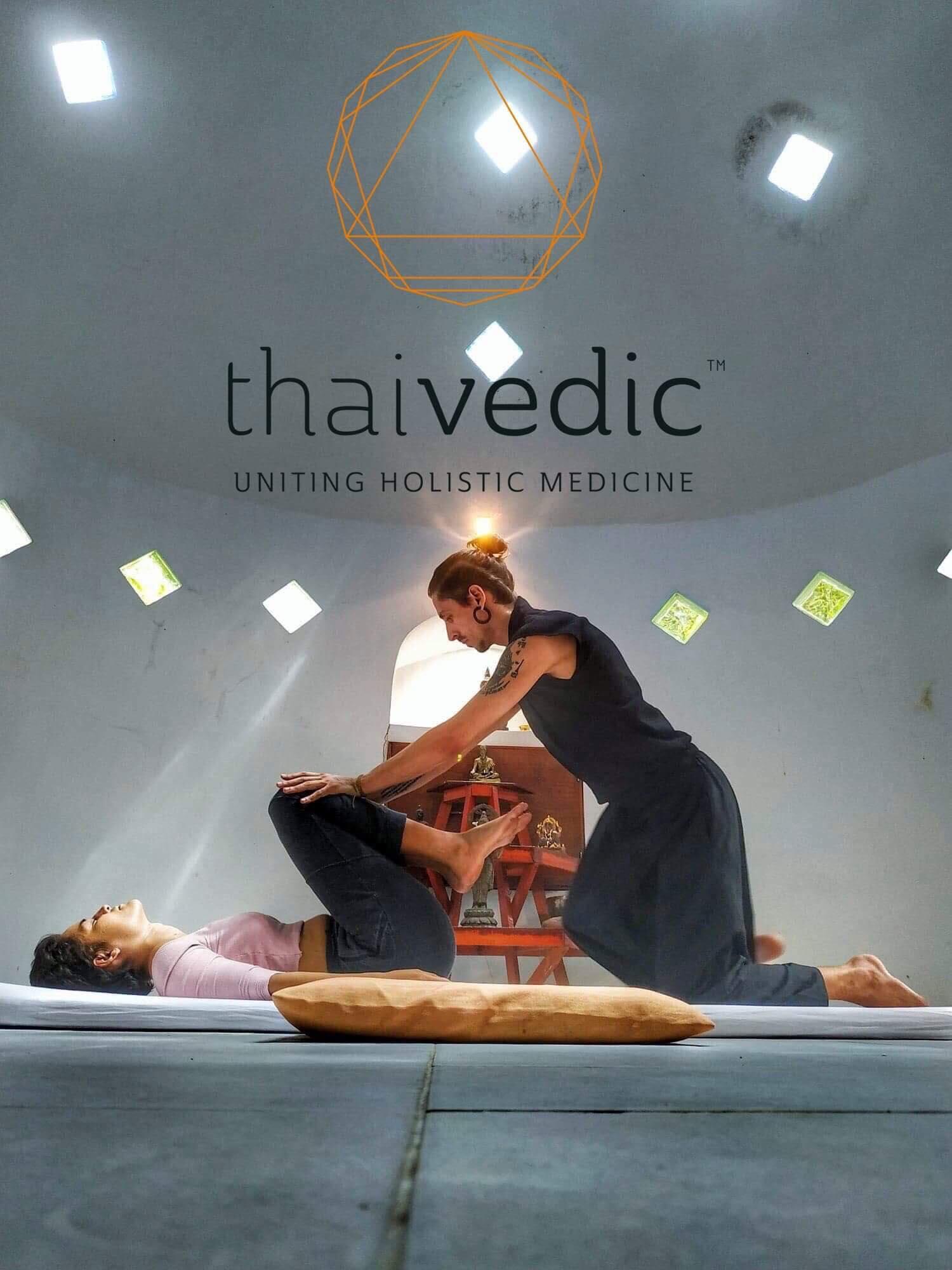 Ayurvedic Yoga streching