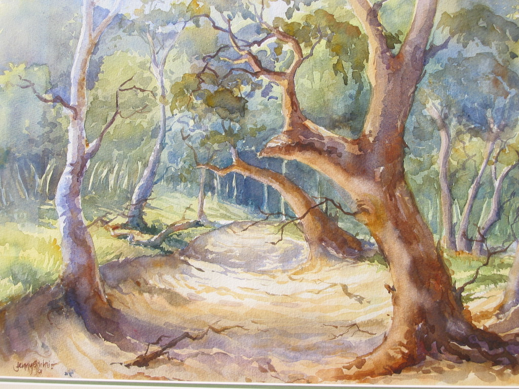 Online watercolour beginners painting tutorials course classes