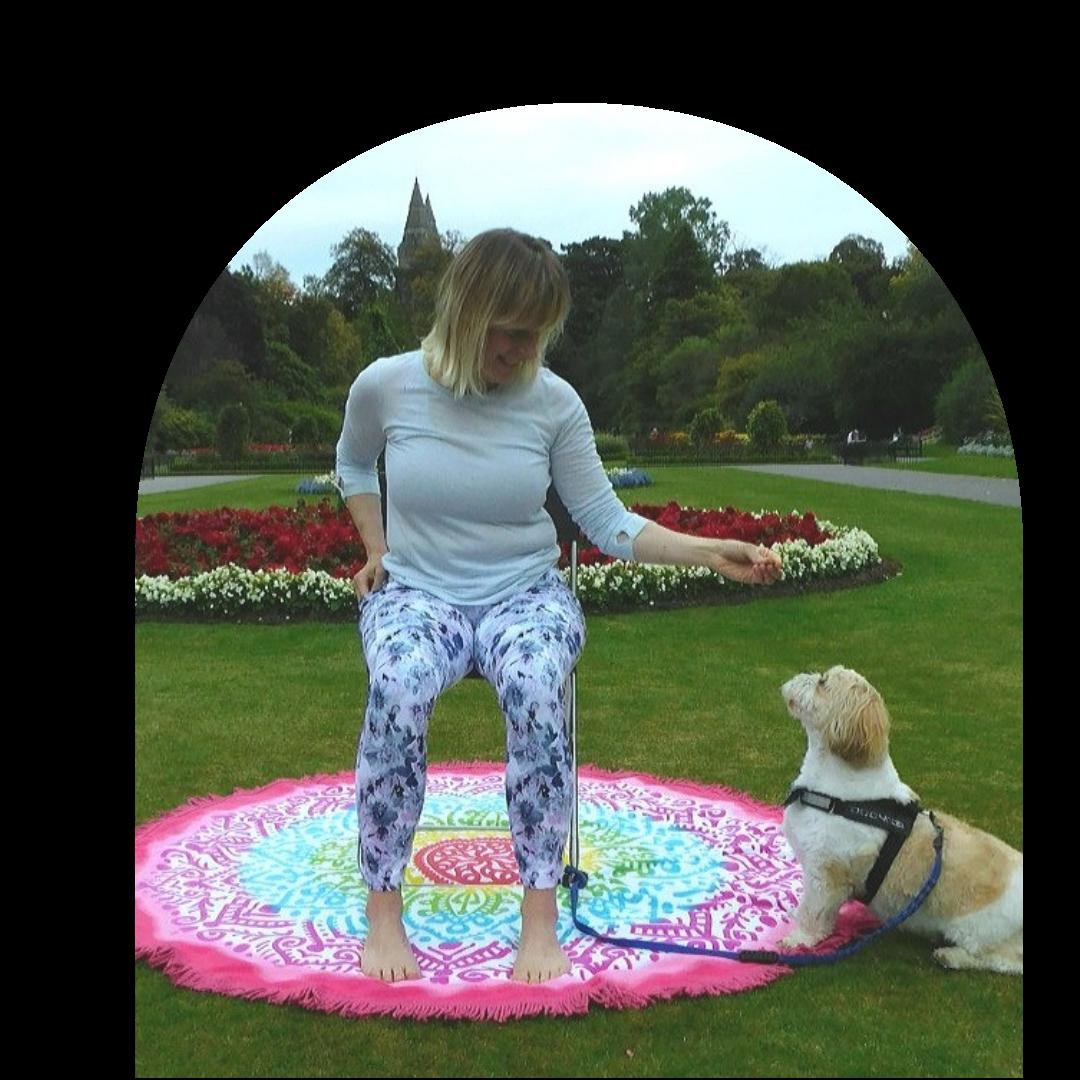 Maria Jones Chair Yoga