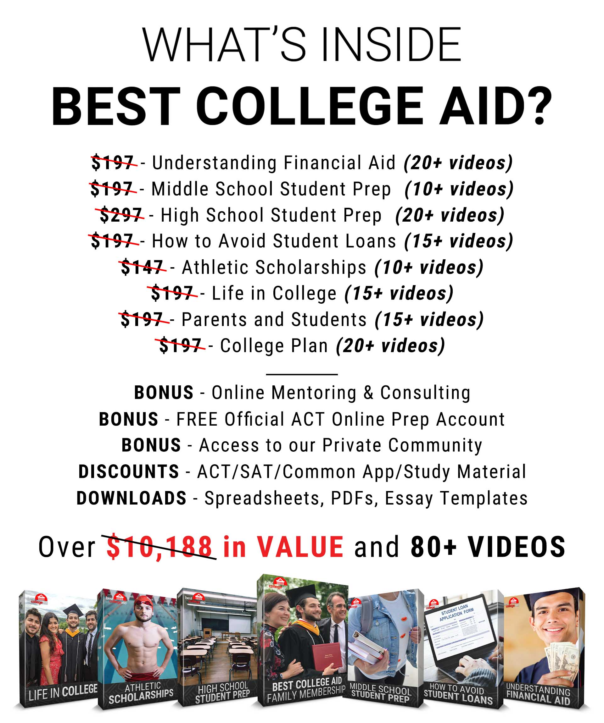 What is inside Best College Aid
