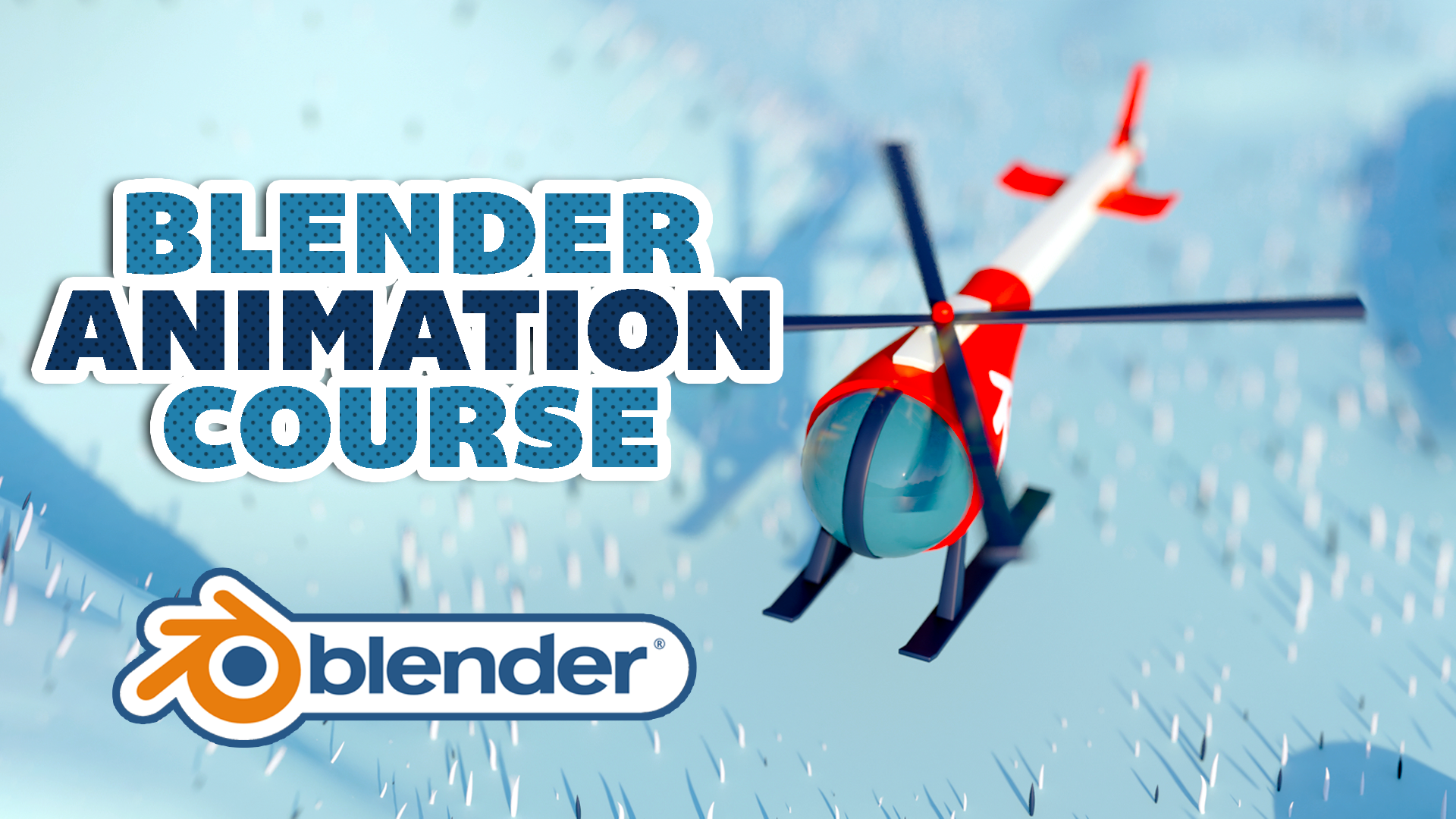Helicopter Animation 3D Modeling Blender Academy Course