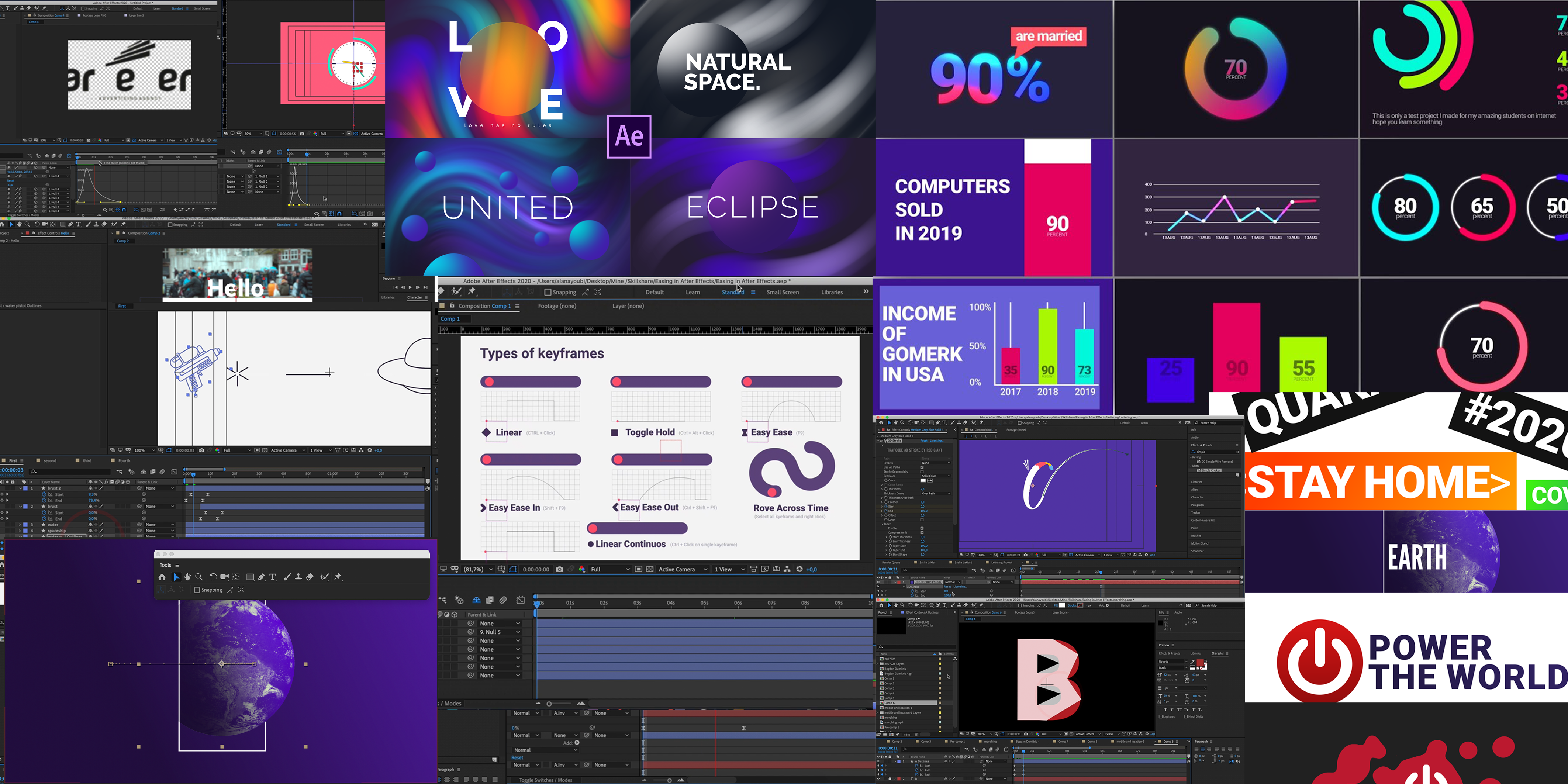 After Effects Motion Graphic Beast