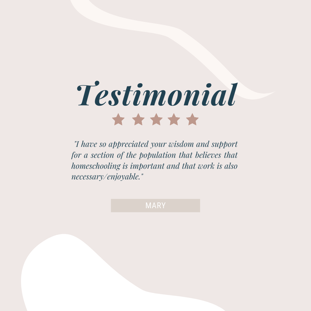 Testimonial from Mary
