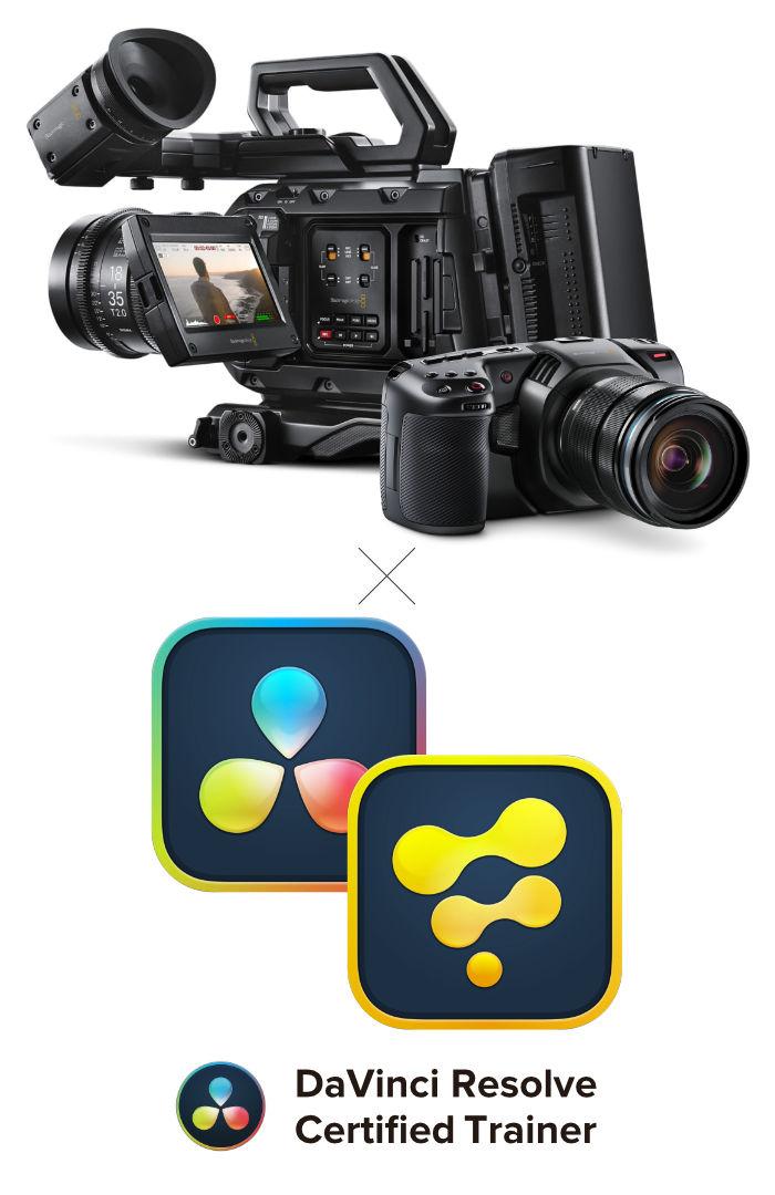 Blackmagic Design製カメラとDaVinci Resolve