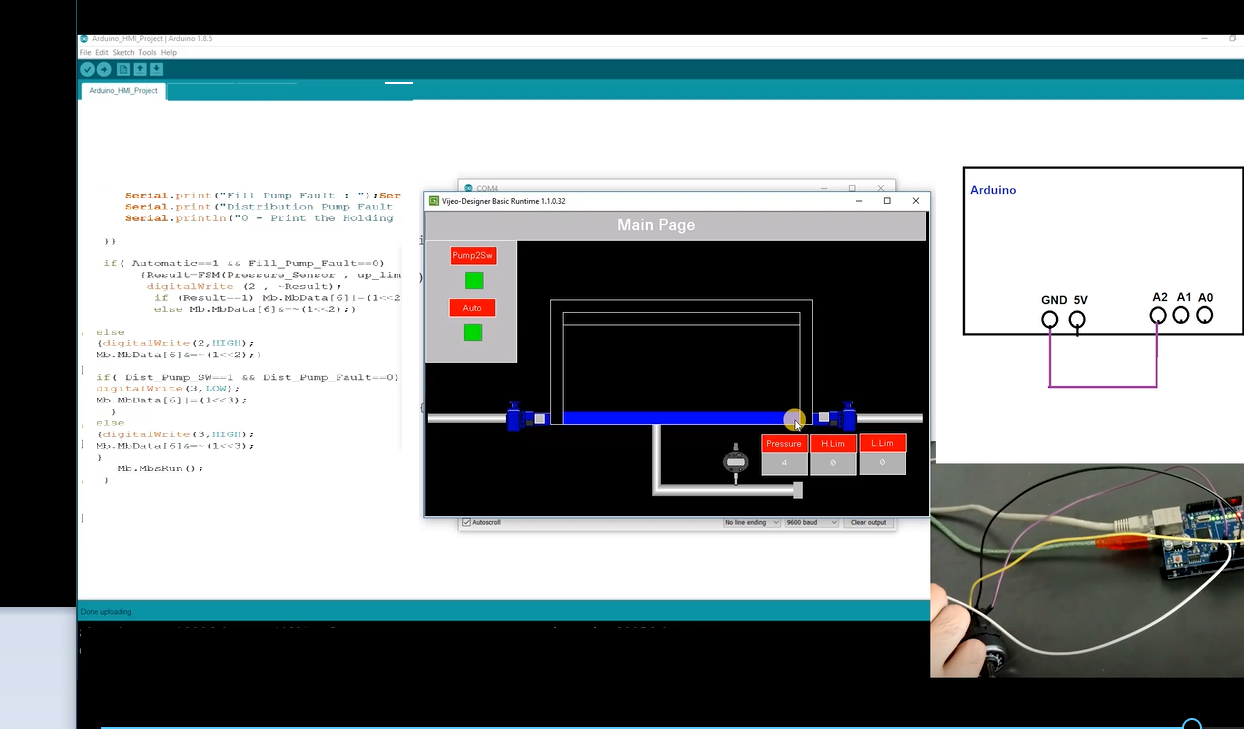 Live Demo your CODESYS Visulization along with your SOFT PLC