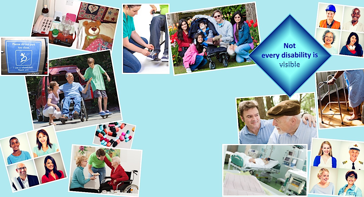 Juggling Care Header with assorted caring images