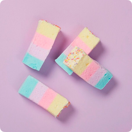 Sugar Cookie Rainbow Marshmallows