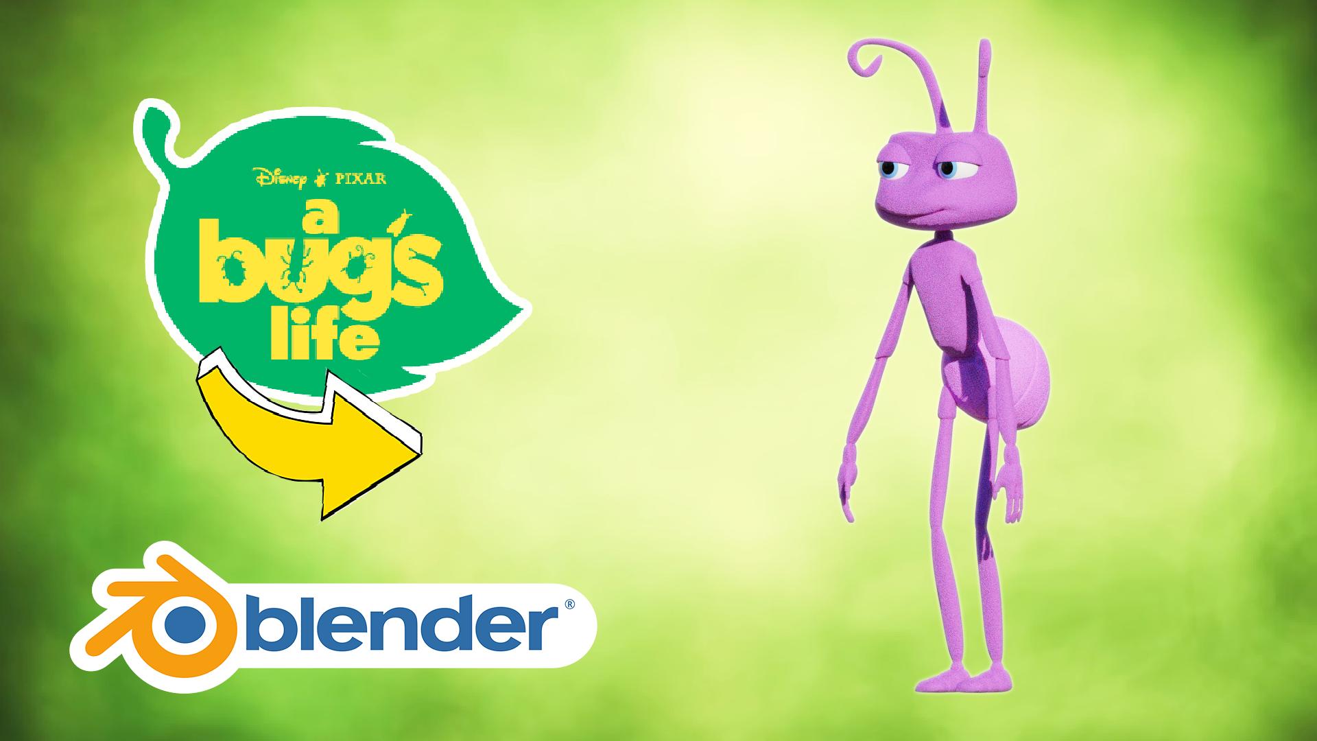 Ant Model 3D Blender Academy Course