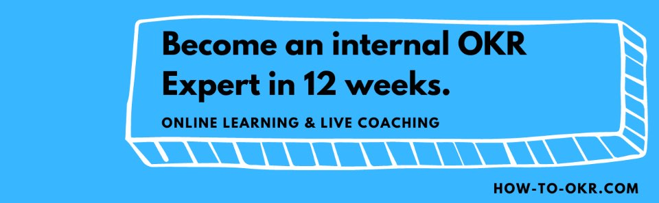 Become an OKR Expert in 12 weeks