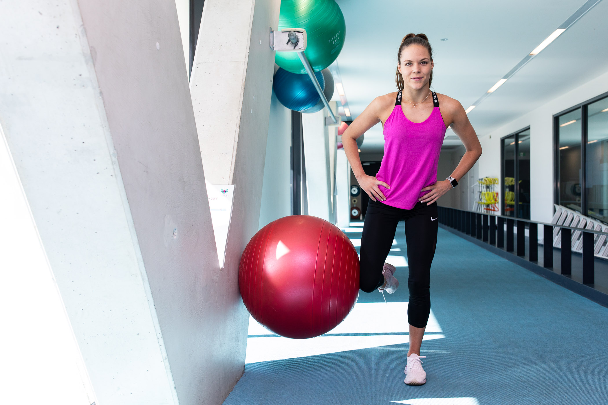 Exercises that require strength and control are important for runners