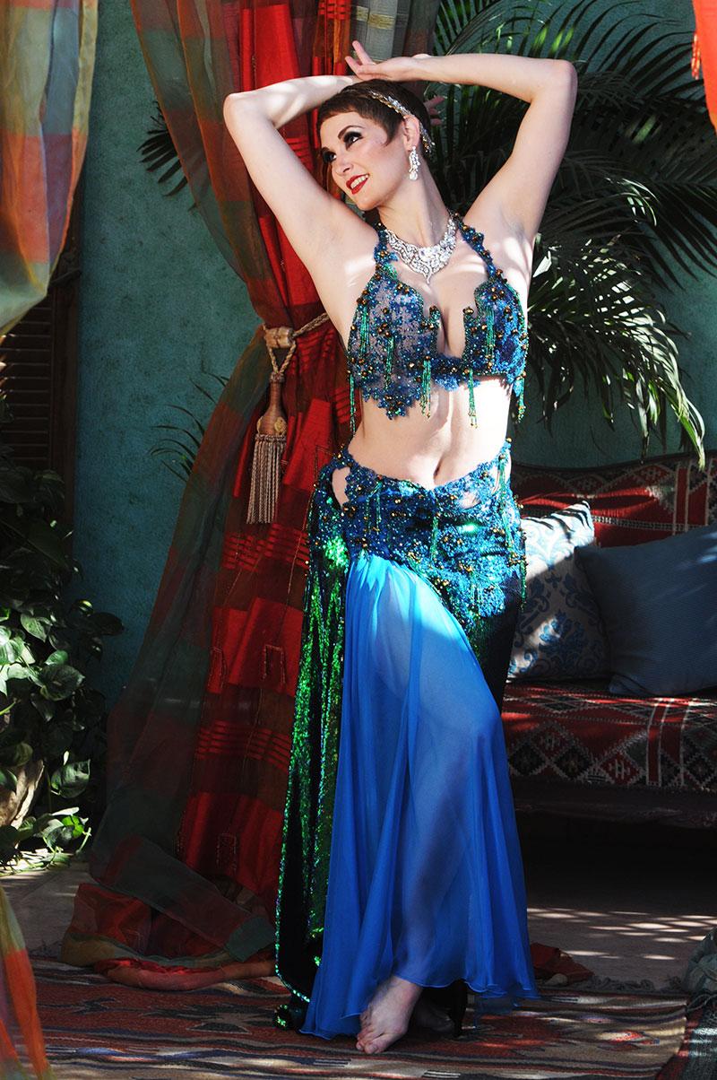 Rosa Noreen, Belly Dance Drum Solo, Online Dance Class