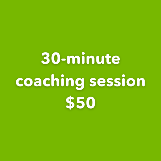 30-minute session $50