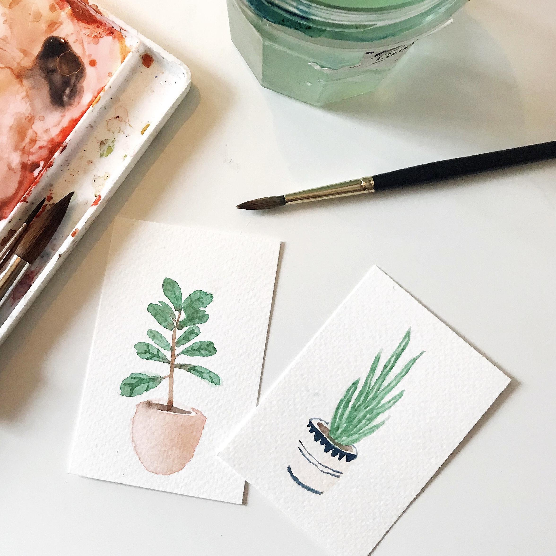 watercolour basics course