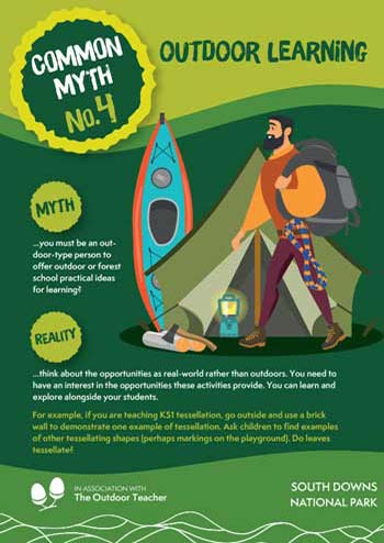 Outdoor Learning Myth Number 4